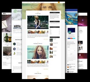 Muestra de Diseños de página Web