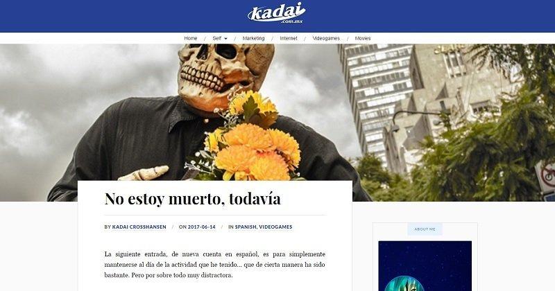 Diseño web y adaptación de tema de WordPress para kadai.com.mx