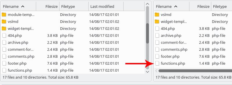 Subiendo archivos mediante FTP