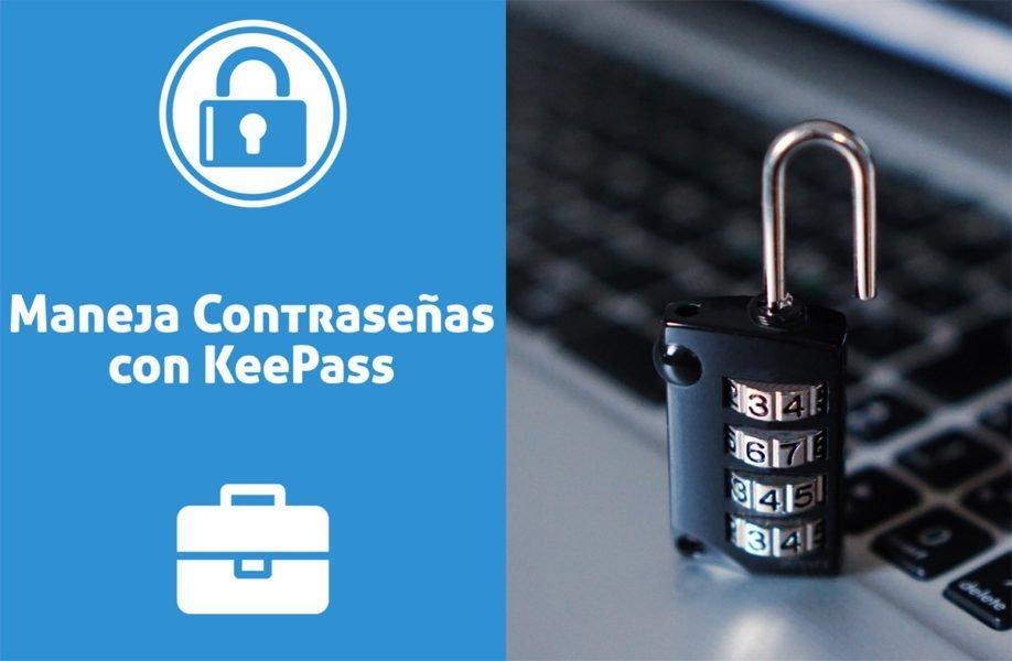 Administra tus contraseñas con KeePass