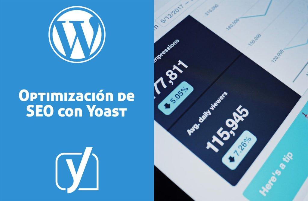 Optimización de SEO haciendo uso de Yoast en las entradas de WordPress.