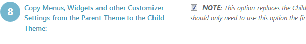 Creando y modificando un tema hijo de WordPress. Conservando las opciones del tema padre.